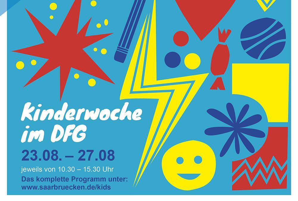Kinderfest in Deutsch Französischen Garten in Saarbrücken und wir sind dabei